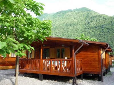 Te huur prive chalet meer van Lugano in Porlezza (Italie)