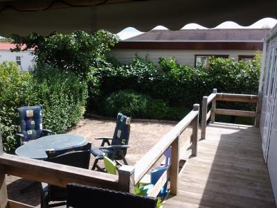 chalet te huur (5 persoons) op 5*camping nabij Callantsoog