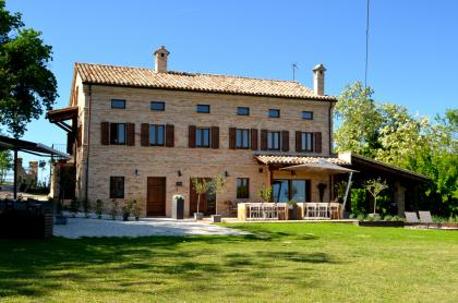 Luxe bed and breakfast met zwembad Le Marche Italië