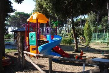 Toscane, Chalet aan zee, op familie camping