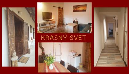 Vakantiehuis Krásny Svet - Vakantieboerderij Natuurlijk Slowakije