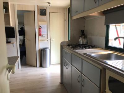 Stacaravan/ Mobilehome te huur aan Zee bij Viareggio,Toscane