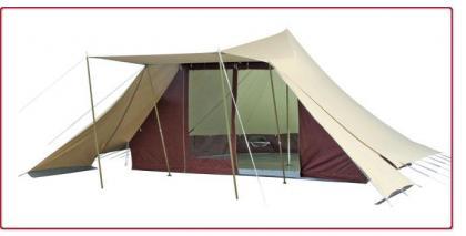 De Waard tenten - De Albatros & De Vergrote Zilvermeeuw