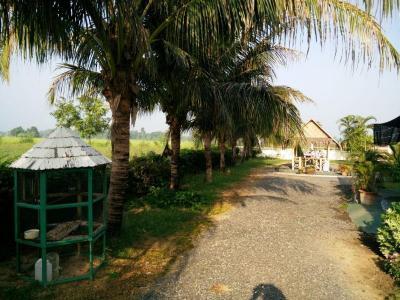 Traditioneel Thai Teakhouten Huis nabij Chiang mai