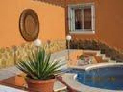 Geniet van de ondergaande zon in luxe villa; prive zwembad
