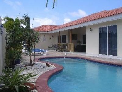 Heerlijke vakantie-villa op zonnig Aruba.