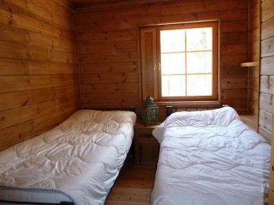Heerlijke robuuste vakantiehuizen ieder met 2 badkamers.