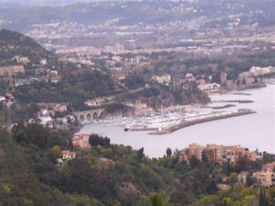 COTE D'AZUR: THEOULE-SUR-MER: te huur 3k.app. met schitterend uitzicht op de baai van CANNES.