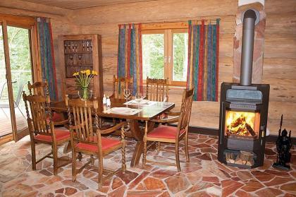 Sfeervol en warm chalet tot 8p in de Eifel