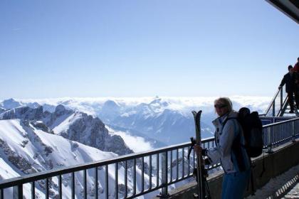 Wintersport op kleine, rustige en zonnige camping in Ramsau am Dachstein