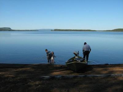 Camping i Järvsand, Zuid-Lappland