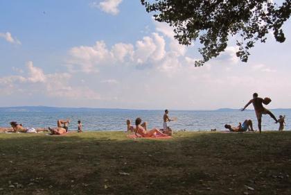 Schitterend uitzicht op het meer van Bolsena