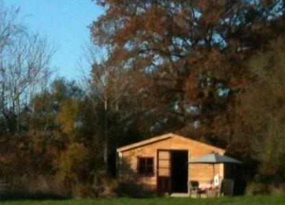 Ecologisch en gerieflijk logeren in onze blokhut in de Limousin
