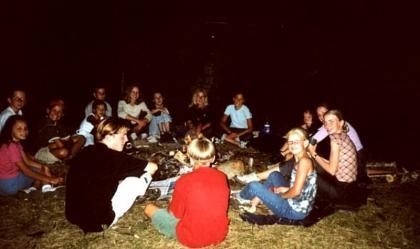 sfeervol frans huis op camping