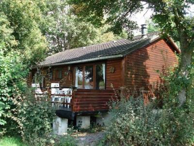 te huur chalet in vakantiepark la Boverie (Belgische Ardennen)