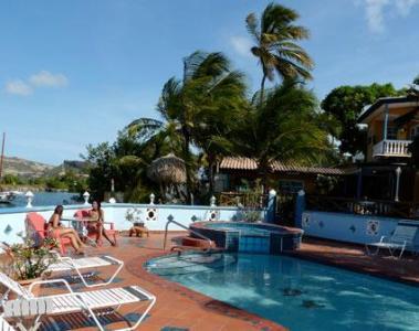 Limestone Holiday aan het mooie Spaanse Water op Curaçao