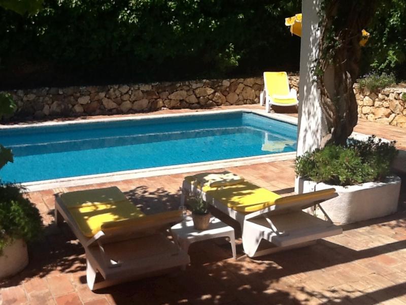 Villa met zwembad te huur in carvoeiro algarve for Villa met zwembad te huur