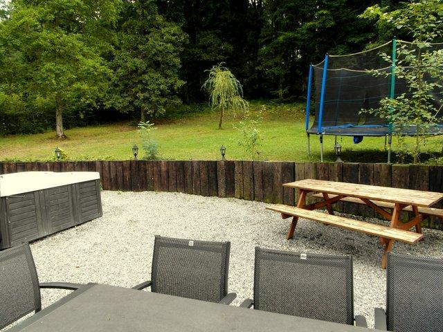Ardennen vakantiehuis 10 tot 12 personen met jacuzzi sauna for Vakantiehuis met jacuzzi