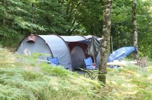kamperen genieten midden in de natuur